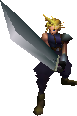 Final Fantasy VII Cloud model