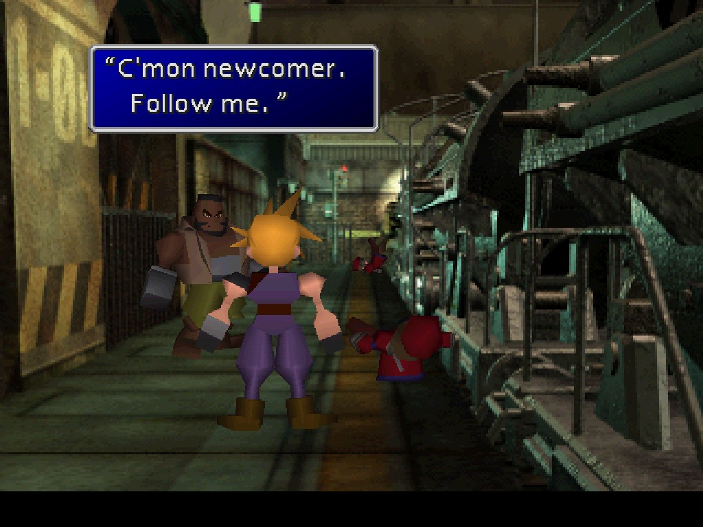 Final Fantasy VII newcomer