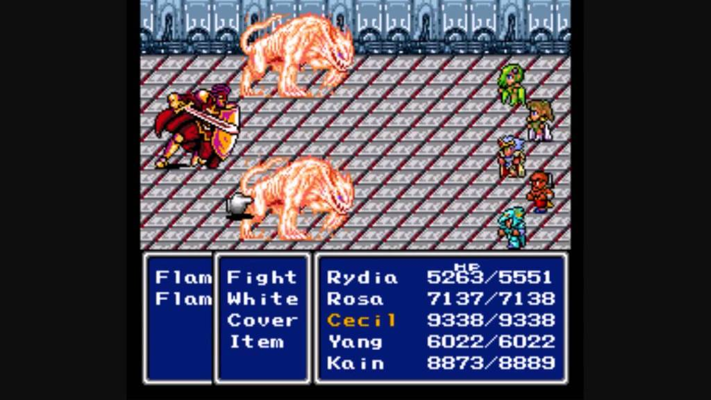 Final Fantasy IV combat