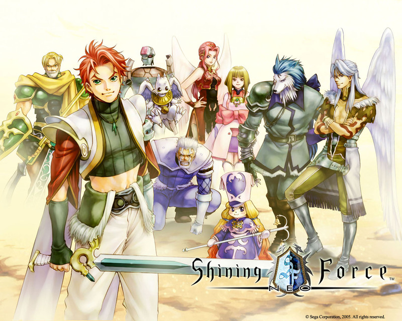Shining Force group