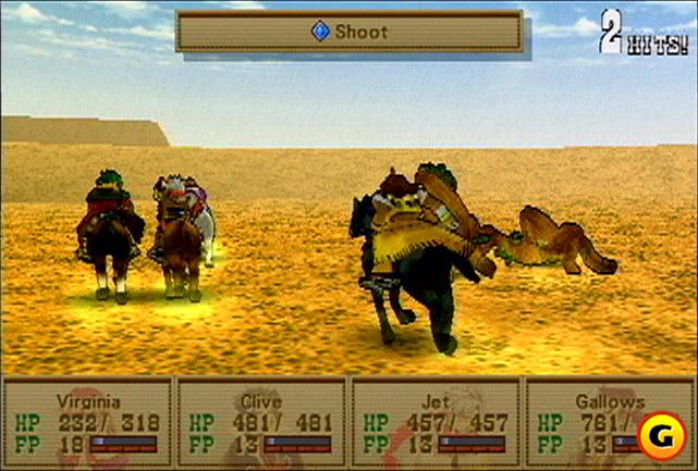 Wild Arms horseback