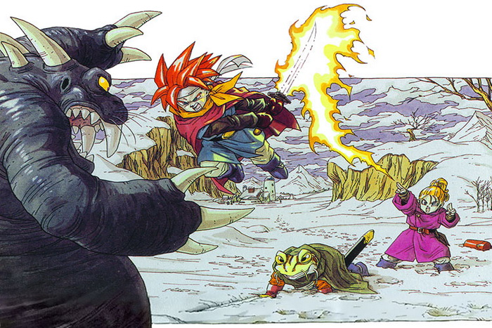Chrono Trigger boxart