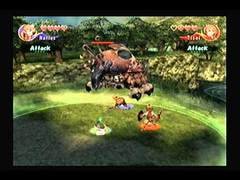 Crystal Chronicles clearing