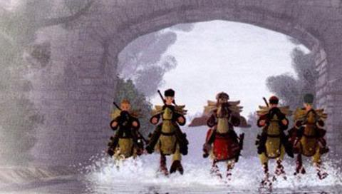 Final Fantasy Tactics scene