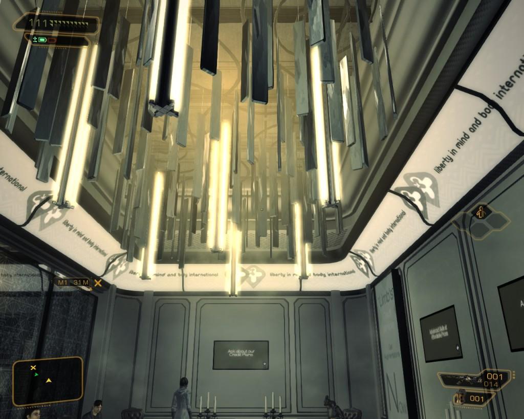 Deus Ex Human Revolutions  limb clinic