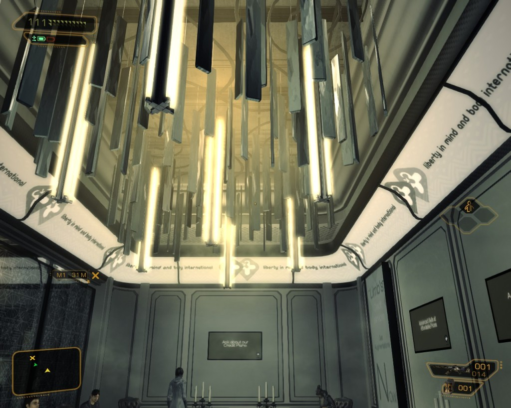 Deus Ex Human Revolutions  limb clinic
