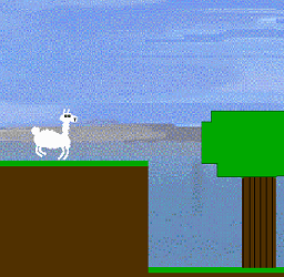 GOTY: resembling a goat; in the manner or fashion of goats