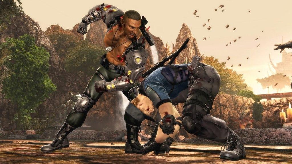 Mortal Kombat 9 fight
