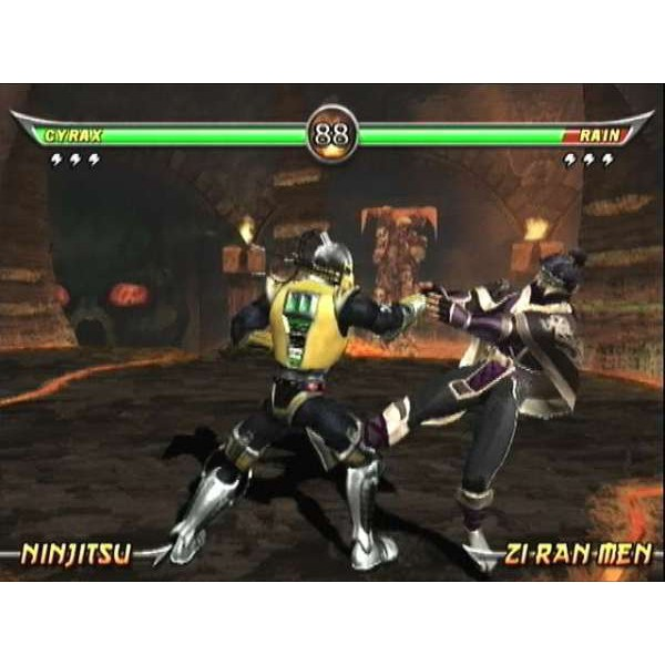 Mortal Kombat Armageddon fight