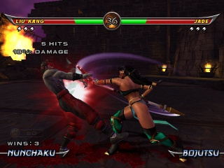 Mortal Kombat Armageddon gameplay