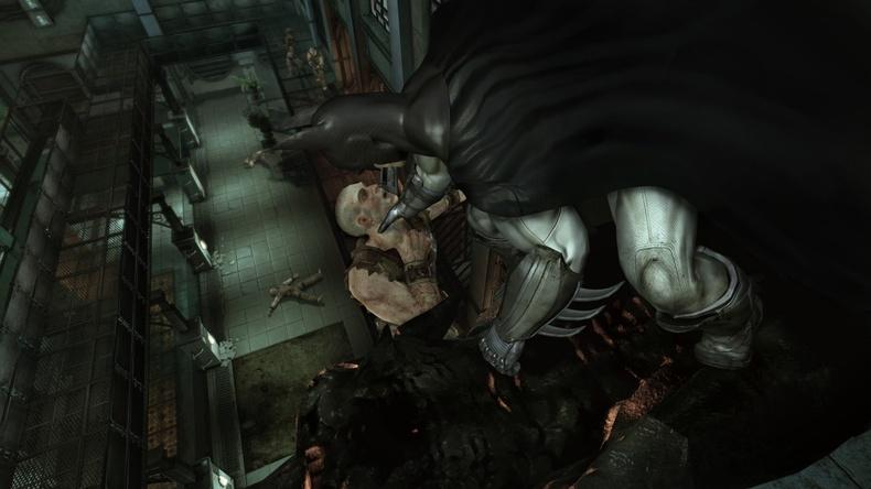 Arkham Asylum stealth takedown