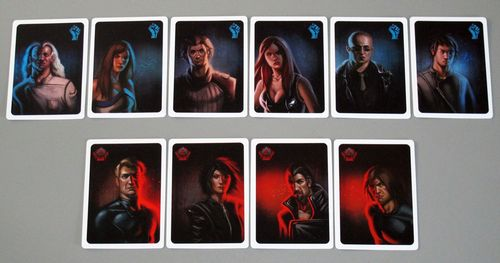 The Resistance card faces