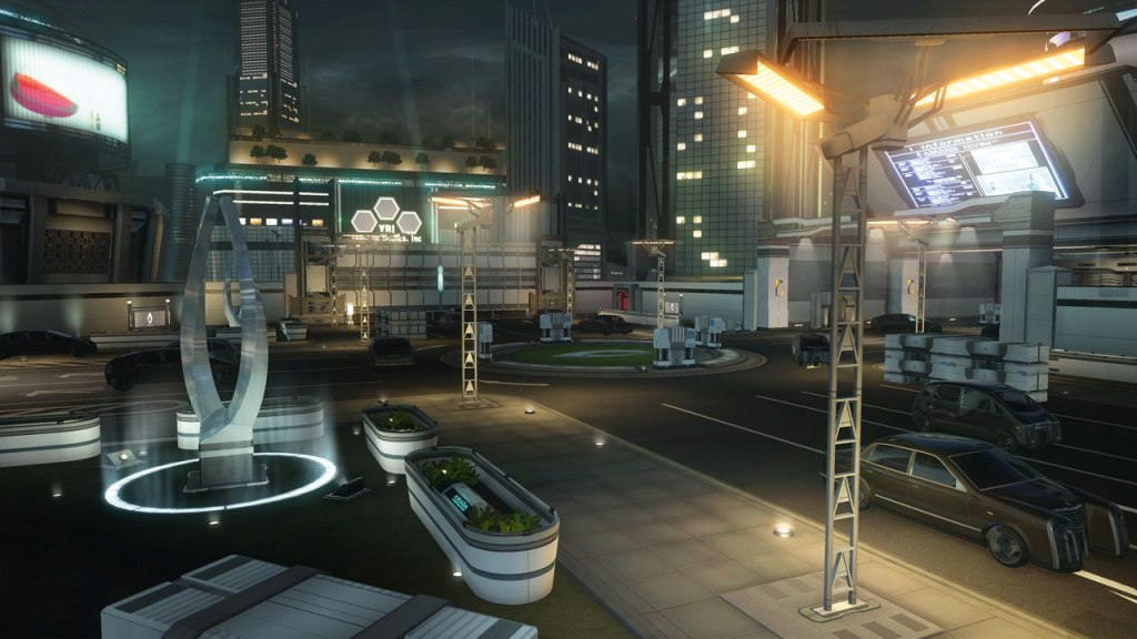 Binary Domain city