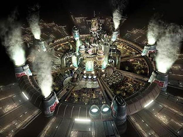Final Fantasy VII midgar overview