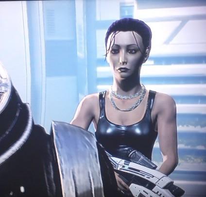 Mass Effect Shep Garrus sniper