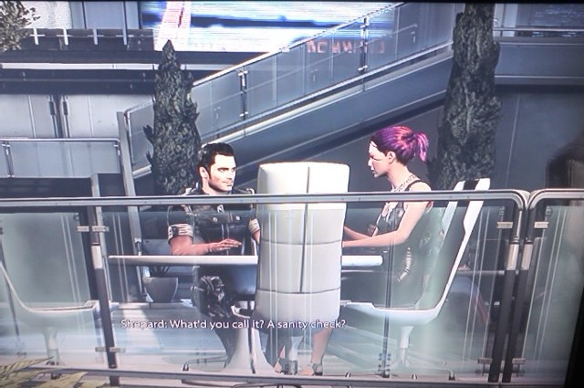 Mass Effect cafe date