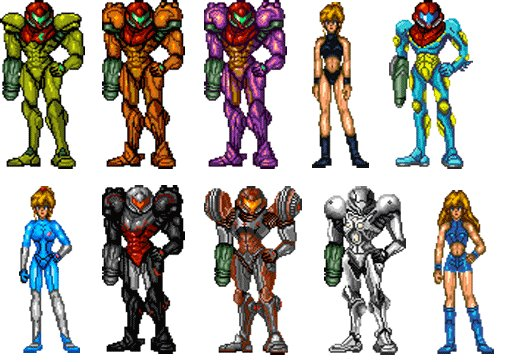 Metroid many Samus