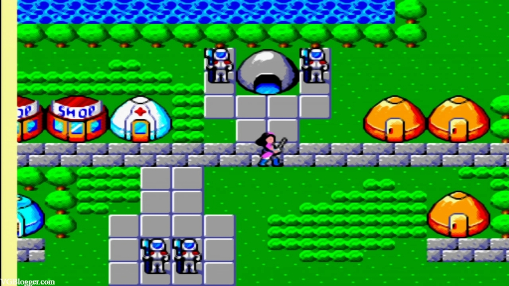 Phantasy Star town