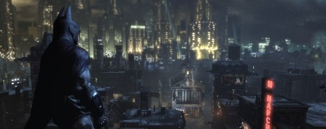 Batman Arkham City cityscape banner