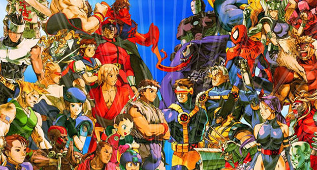 Marvel Vs Capcom character roster