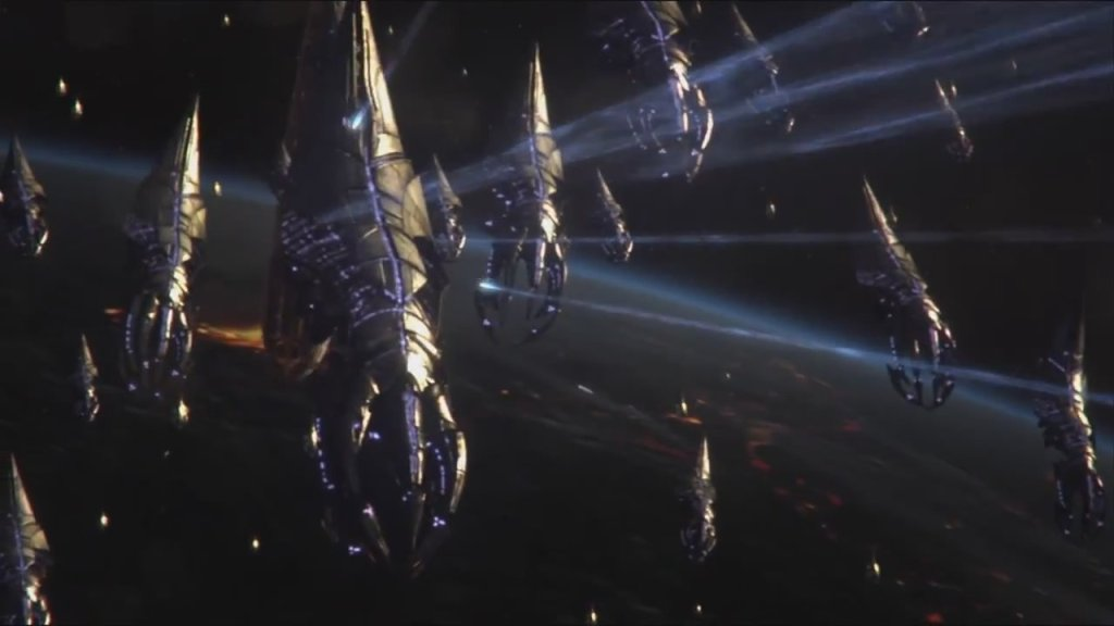 Mass Effect 3 reaper fleet