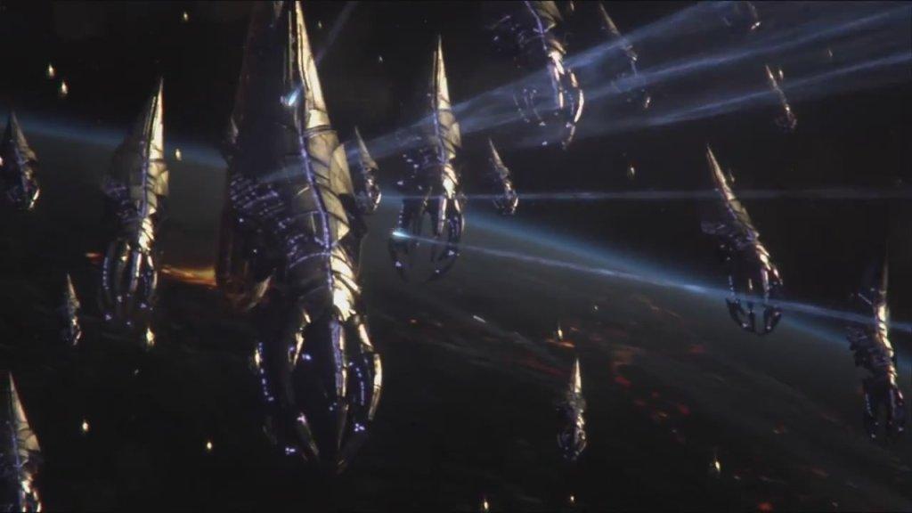 Mass Effect 3 reaper fleet