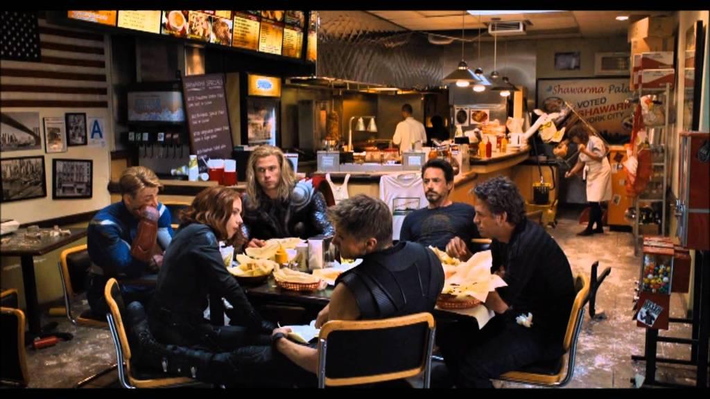 The Avengers shawarma