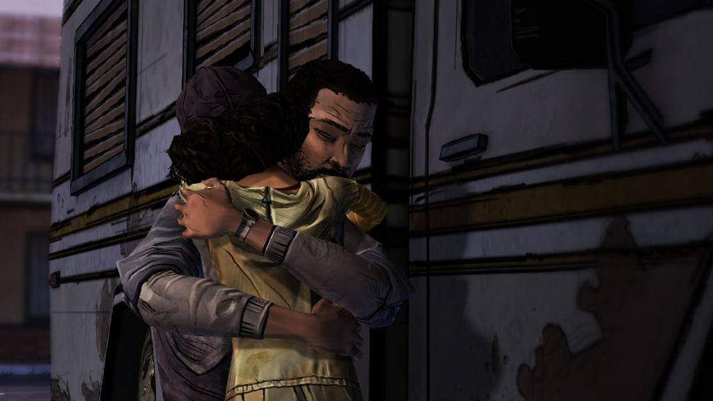 The Walking Dead Lee and Clementine