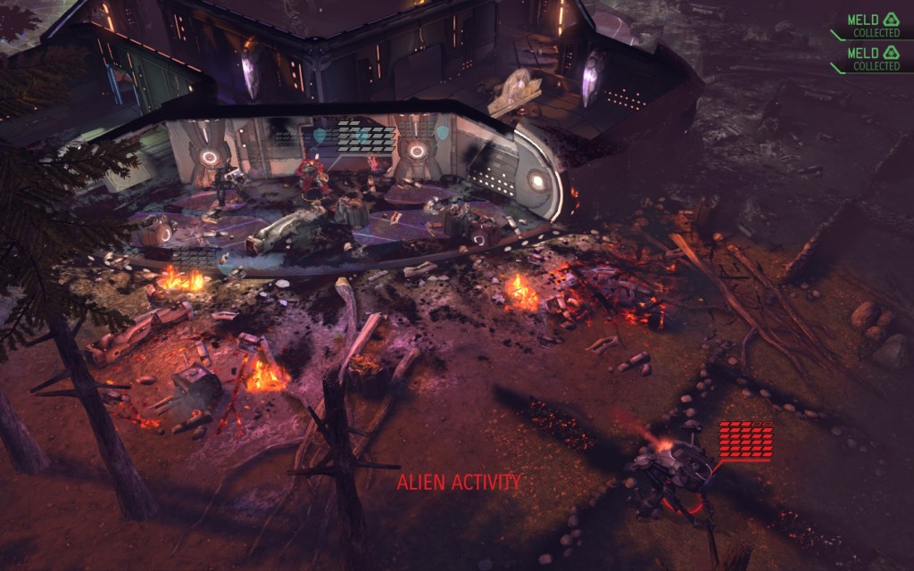 XCOM crashed ship
