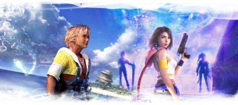 Final Fantasy X promo art