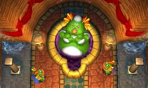 The Legend of Zelda: A Link Between Worlds queen oren