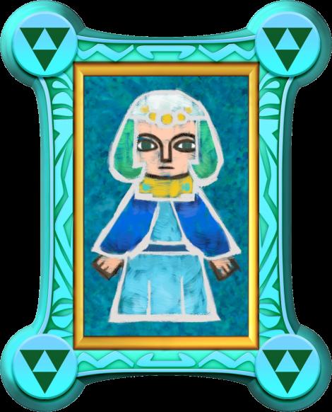 The Legend of Zelda: A Link Between Worlds Seres painting