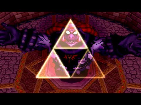 The Legend of Zelda: A Link Between Worlds Yuga consuming