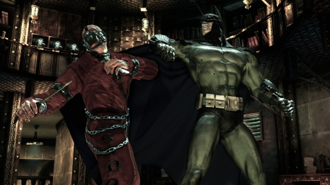 Batman Arkham Asylum knife fight
