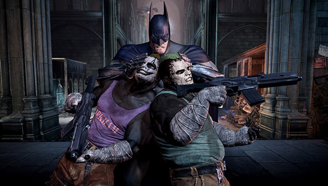 Batman Arkham City goons