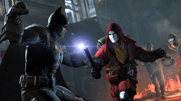 Batman Arkham Origins Anarky fight