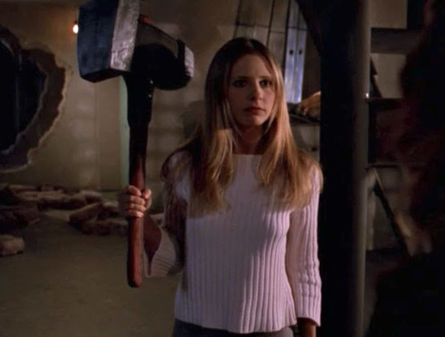 Buffy the Vampire Slayer troll hammer