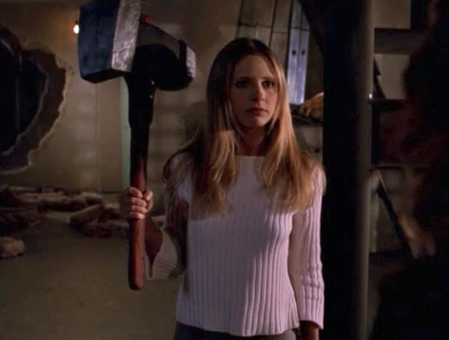 Buffy the Vampire Slayer troll hammer