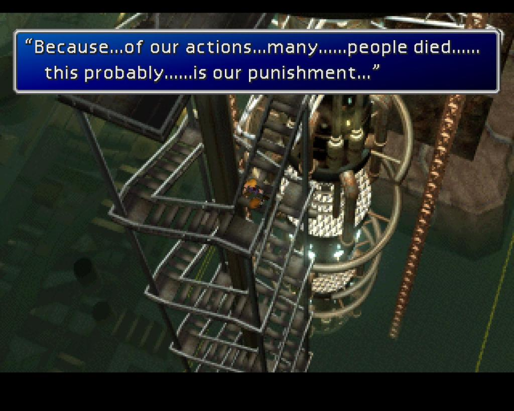 Final Fantasy VII guilt
