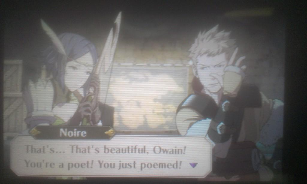Fire Emblem Awakening Owain Noire