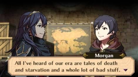 Fire Emblem Awakening Lucina and Morgan conversation