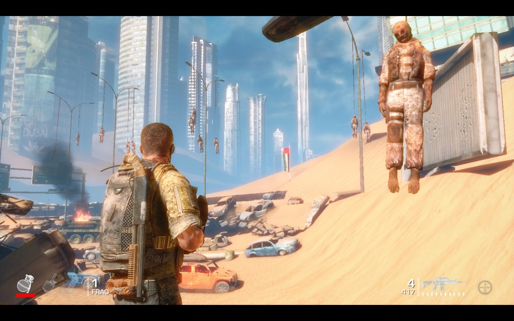 Spec-Ops 33rd battleground
