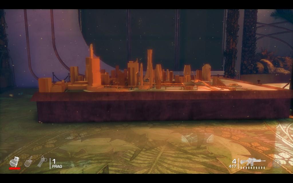 Spec-Ops model city