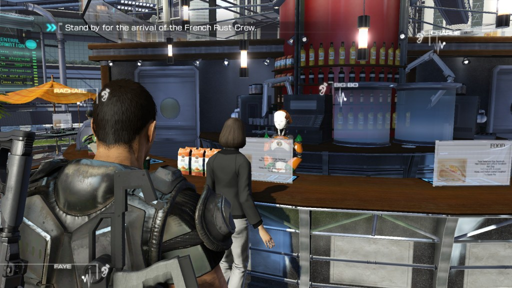 Binary Domain cafe server