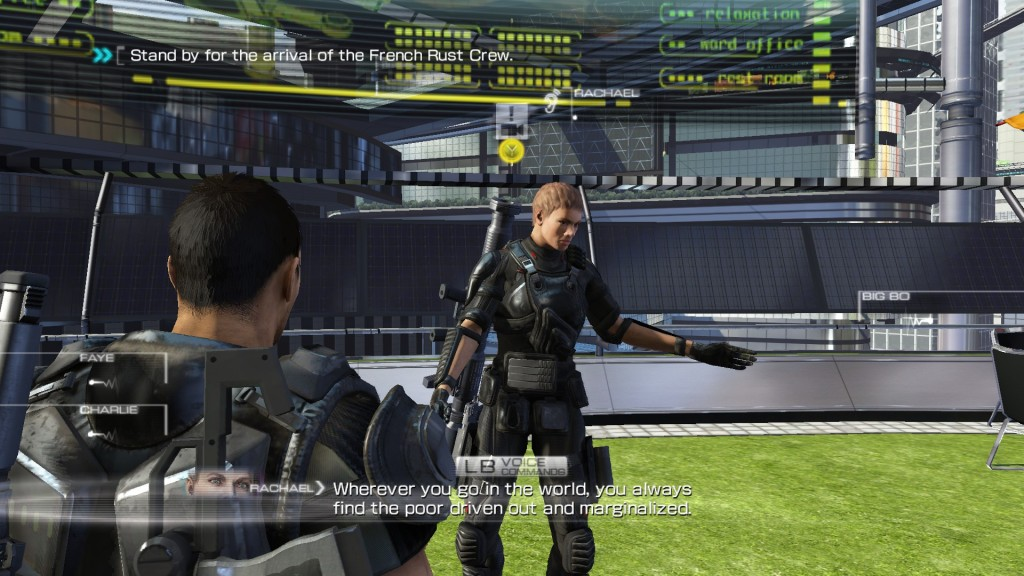 Binary Domain Rachel comment