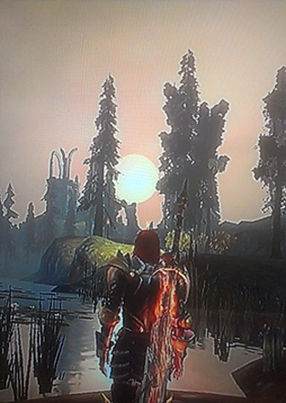 Dragon Age sunset