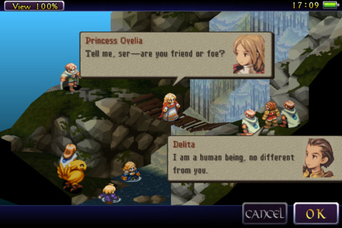 Final Fantasy Tactics Delita Ovelia talk