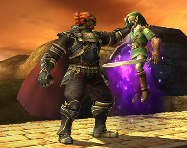 Legend of Zelda Twilight Princess Ganondorf vs Link
