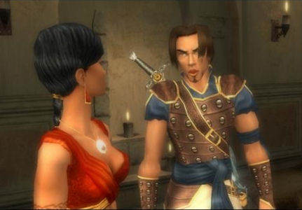 Prince of Persia Sands of Time Farah and the Prince