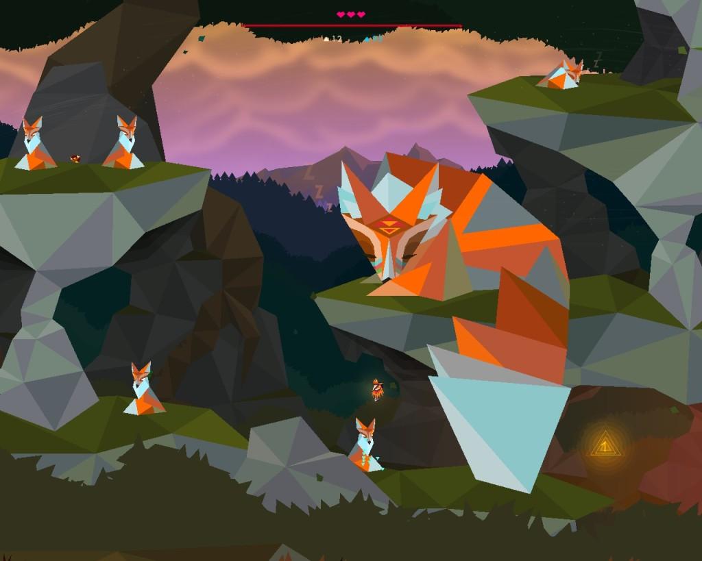 Secrets of Raetikon sleeping foxes